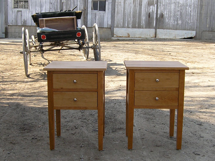twodrawercherrysidetables