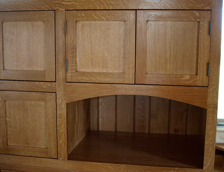 Chicago Craftsman Bungalow Kitchen Branch Hill Joinery