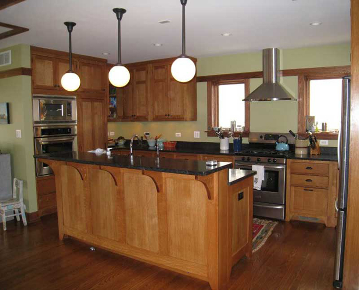 Chicago Craftsman Bungalow Kitchen | Branch Hill Joinery