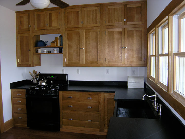 Michigan farm kitchen branch hill joinery for Amish kitchen cabinets wisconsin