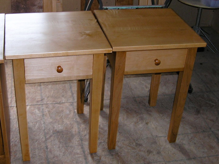 maple1drawersidetable