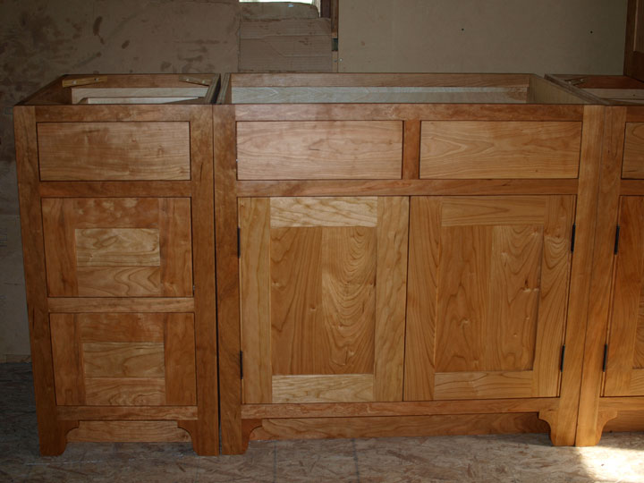 Classic Shaker Cherry Cabinets | Branch Hill Joinery