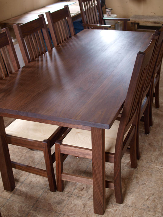 Walnut Dining Table Branch Hill Joinery