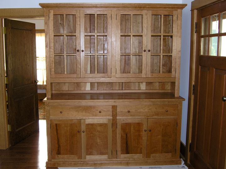 Large 4 Door Hutch & Hutches   Branch Hill Joinery