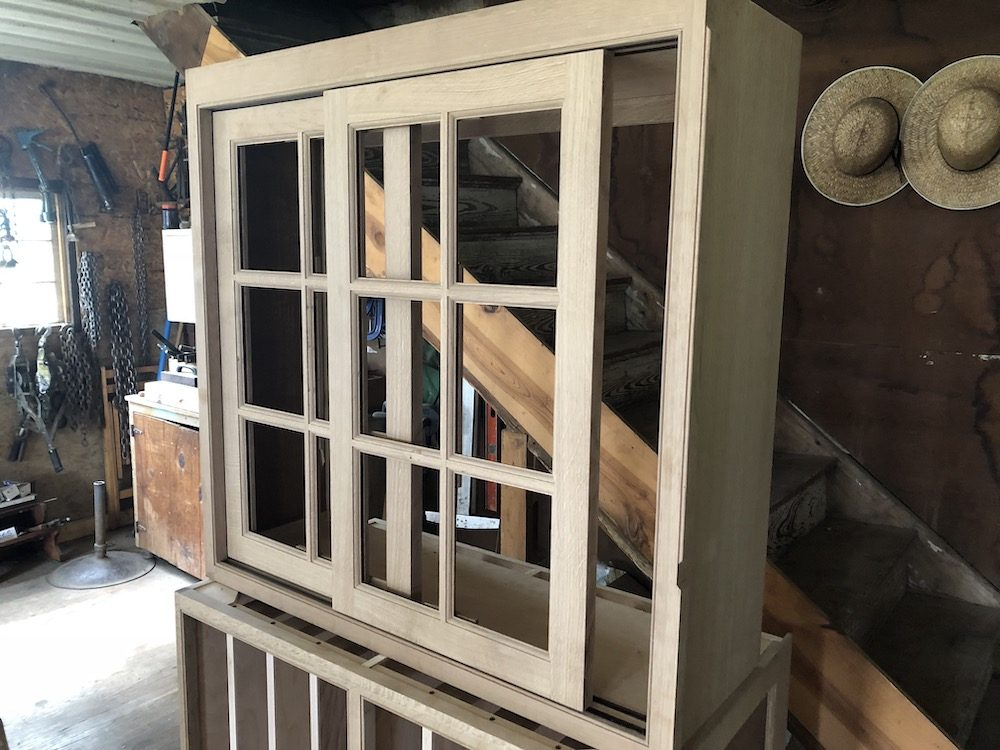 Sliding Door Custom Cabinet